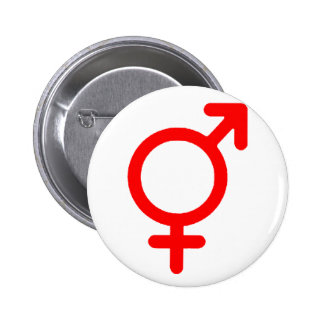 Gender Neutral Red The MUSEUM Zazzle Gifts Pin
