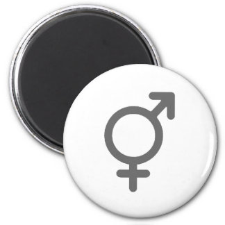 Gender Neutral Silver The MUSEUM Zazzle Gifts 6 Cm Round Magnet