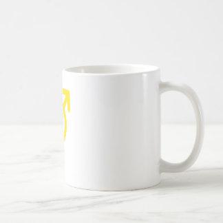 Gender Neutral Yellow The MUSEUM Zazzle Gifts Basic White Mug