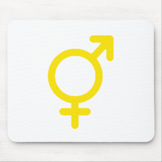 Gender Neutral Yellow The MUSEUM Zazzle Gifts Mouse Pad