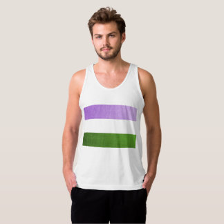 Gender Queer Flag Purple Tee