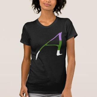 """Gender Queer Pride """"Scarlet"""" Letter A T-Shirt"""