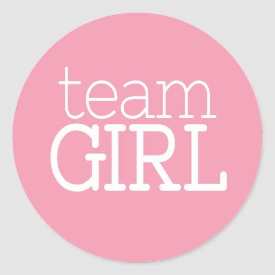 Gender Reveal Baby Shower - Team Pink Girl