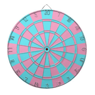 GENDER REVEAL GAMES DARTBOARD