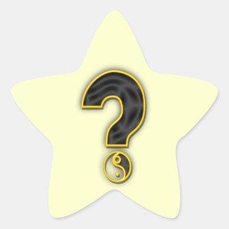 Gender Reveal Party Star Sticker
