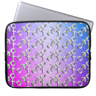 Gender symbols. laptop sleeve