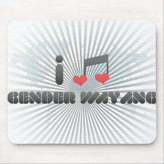 Gender Wayang fan Mouse Pad