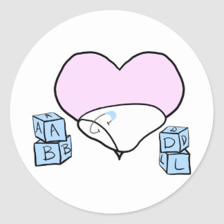 Genderbend ABDL Sticker