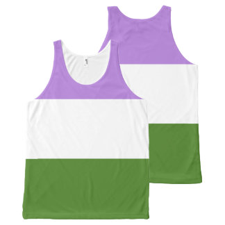 GenderQueer All-Over Print Tank Top