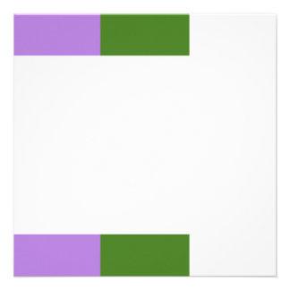 Genderqueer flag custom invitation