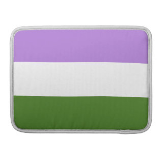 GENDERQUEER FLAG ORIGINAL -.png MacBook Pro Sleeve