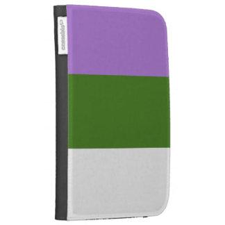 GENDERQUEER PRIDE 2014 PRIDE png Kindle Keyboard Covers