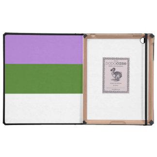 GENDERQUEER PRIDE 2014 PRIDE png iPad Folio Case