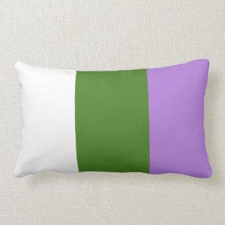 GENDERQUEER PRIDE 2014 PRIDE png Pillow