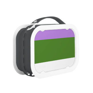 GENDERQUEER PRIDE 2014 PRIDE png Yubo Lunch Box