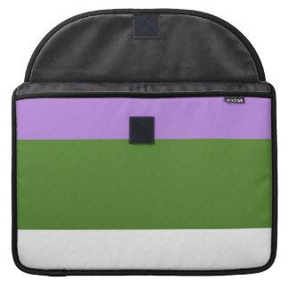 GENDERQUEER PRIDE 2014 PRIDE png Sleeve For MacBooks