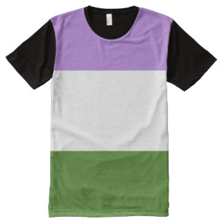 Genderqueer Pride All-Over Print T-Shirt