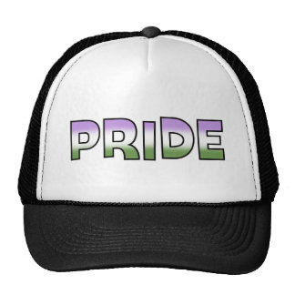 Genderqueer Pride Cap