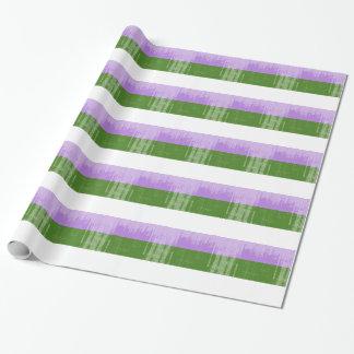 GENDERQUEER PRIDE DISTRESSED DESIGN - 2014 PRIDE.p Gift Wrap Paper