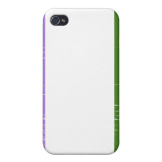 GENDERQUEER PRIDE DISTRESSED DESIGN CASE FOR iPhone 4