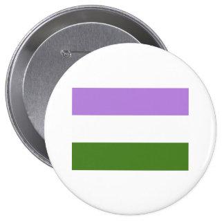 Genderqueer Pride Flag 10 Cm Round Badge