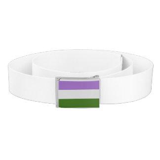 Genderqueer Pride Flag Belt