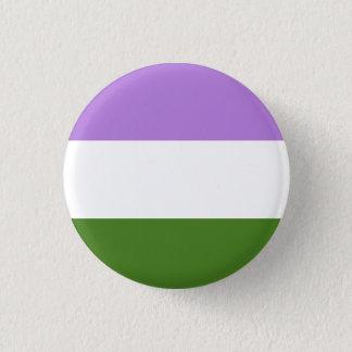 Genderqueer Pride Flag button