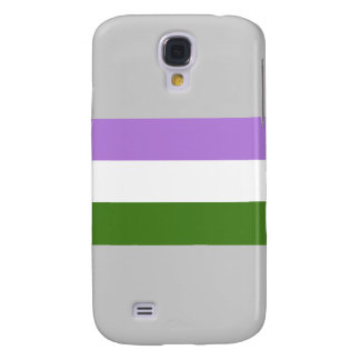 Genderqueer Pride Flag Galaxy S4 Cover