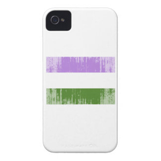GENDERQUEER PRIDE FLAG -Distressed Blackberry Bold Case