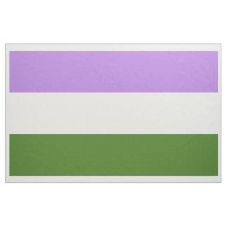Genderqueer Pride Flag Fabric