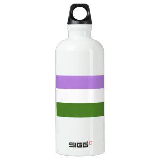 Genderqueer Pride Flag SIGG Traveler 0.6L Water Bottle
