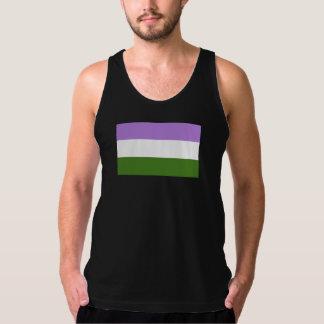 Genderqueer Pride Flag Tanktops
