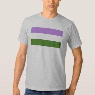 Genderqueer Pride Flag Tshirt