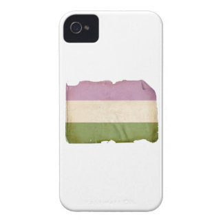 GENDERQUEER PRIDE FLAG - Vintage Blackberry Cases
