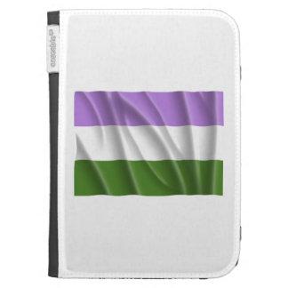GENDERQUEER PRIDE FLAG -Wavy Kindle 3 Covers