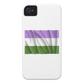 GENDERQUEER PRIDE FLAG -Wavy Blackberry Case