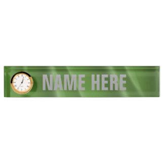 GENDERQUEER PRIDE FLAG WAVY DESIGN - 2014 PRIDE.pn Desk Nameplates