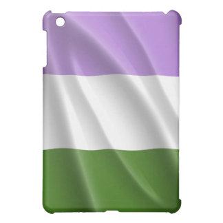 GENDERQUEER PRIDE FLAG WAVY DESIGN iPad MINI CASES