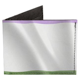 GENDERQUEER PRIDE FLAG WAVY DESIGN -.png Tyvek Wallet
