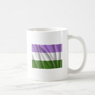 GENDERQUEER PRIDE FLAG -Wavy Mugs
