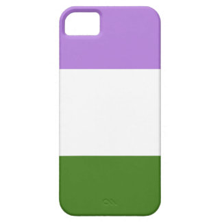 GENDERQUEER PRIDE STRIPES DESIGN -.png iPhone 5/5S Cover