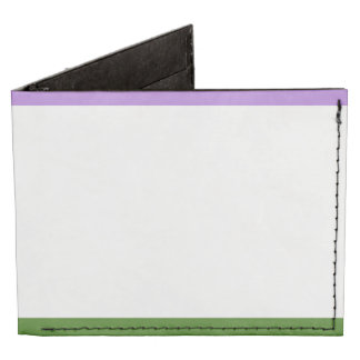 GENDERQUEER PRIDE STRIPES DESIGN -.png Tyvek® Billfold Wallet