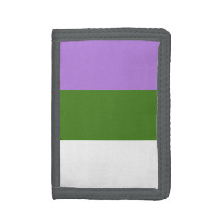 GENDERQUEER PRIDE TRIFOLD WALLETS