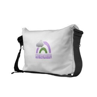 GENDERQUEER RAINBOW COURIER BAGS
