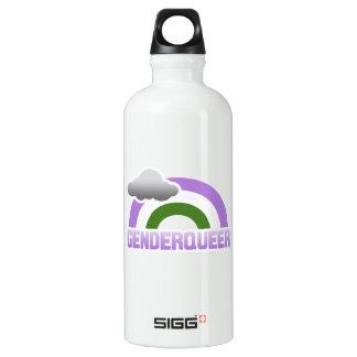 GENDERQUEER RAINBOW SIGG TRAVELLER 0.6L WATER BOTTLE