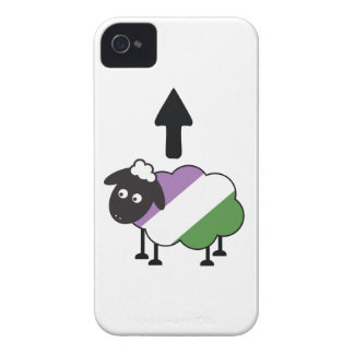Genderqueer Sheep Of The Family LGBTQ Pride Case-Mate iPhone 4 Case