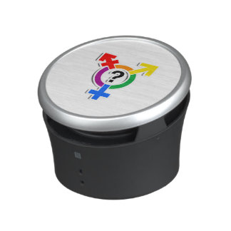 GENDERQUEER SYMBOL RAINBOW 3D -.png Speaker