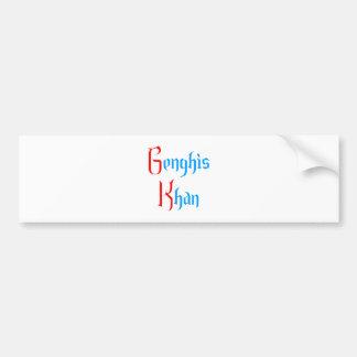 Gene GHI Khan Bumper Sticker