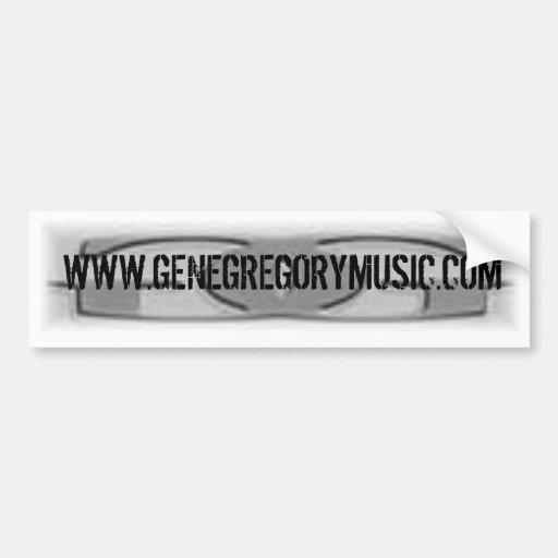 Gene Gregory Bumper Sticker