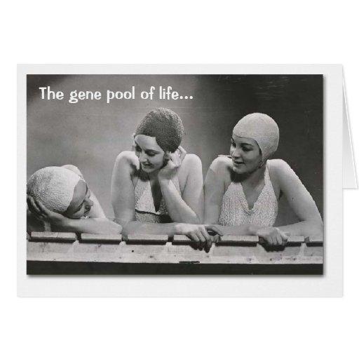 Gene Pool Greeting Card